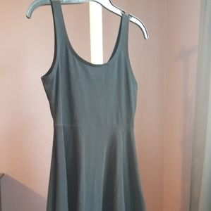 Express Cotton skater dress.